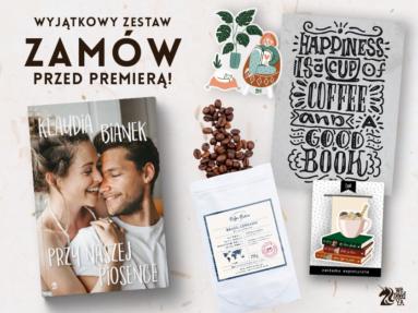 Kawa i miłość – zamów przedpremierowo książkę z gadżetami!